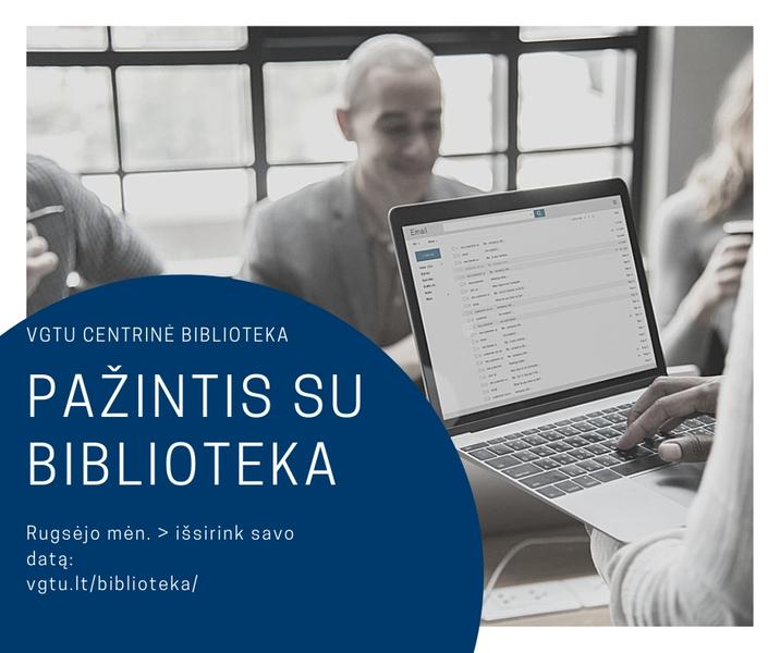 Pažintis su biblioteka