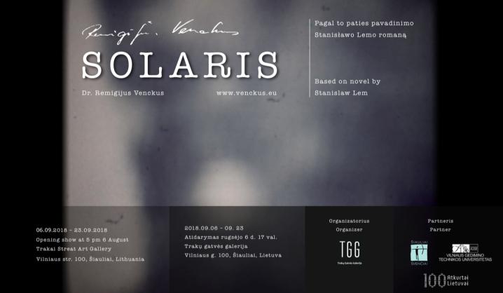 VGTU dėstytojas atidaro autorinę eksperimentinių fotografijų parodą
