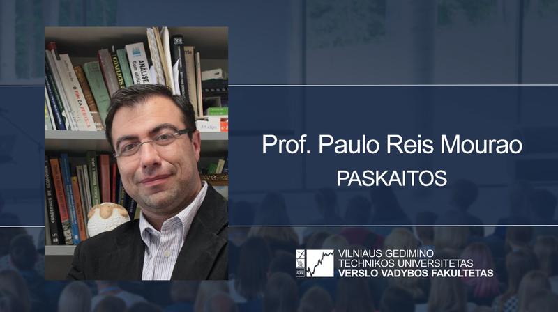 Vyks prof. Paulo Reis Mourao paskaitos