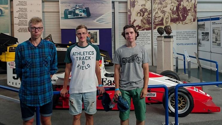 VGTU studentiškos formulės komanda lankėsi garsiojoje Hockenheimo lenktynių trasoje Vokietijoje