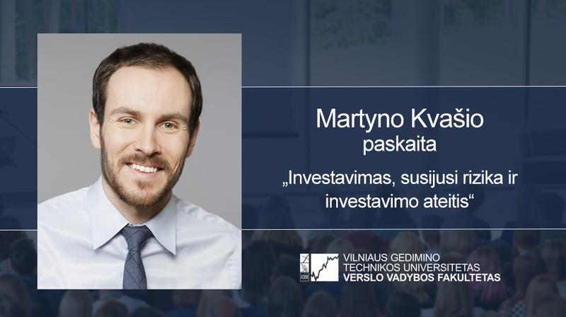 Vyks Martyno Kvašio paskaita