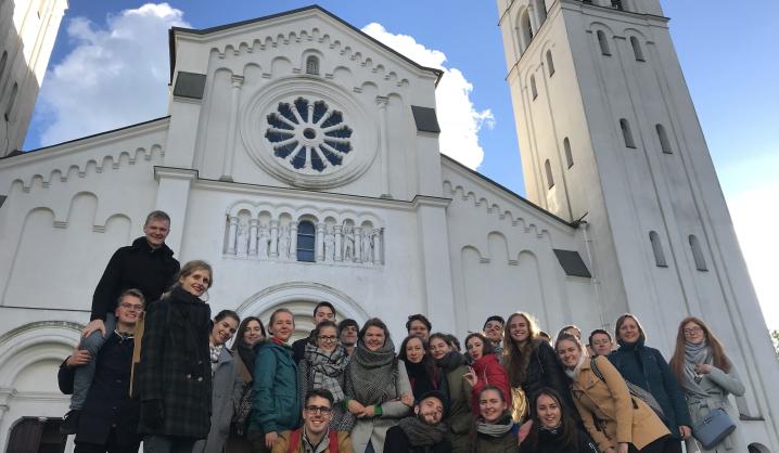 VGTU choro kelionė į Rietavo Mykolinių šventę