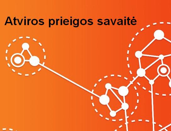 Spalio 22–28 d. švenčiama tarptautinė Atvirosios prieigos savaitė