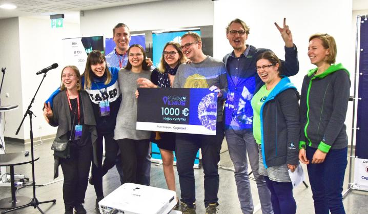 Hack4Vilnius hakatone pristatyti išmanūs sprendimai Vilniaus miestui