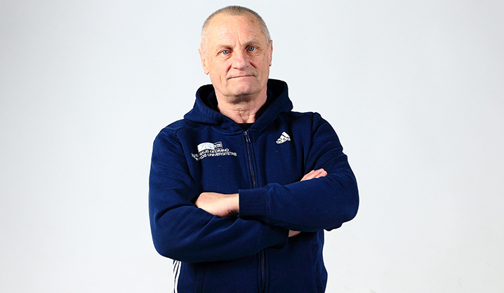 """Pažink SMC"" -  treneris Algirdas Šulinskas"