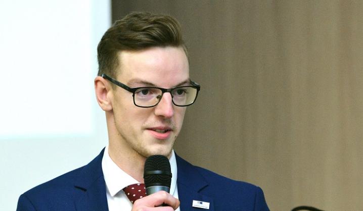 Išrinktas naujas VGTU Studentų atstovybės prezidentas