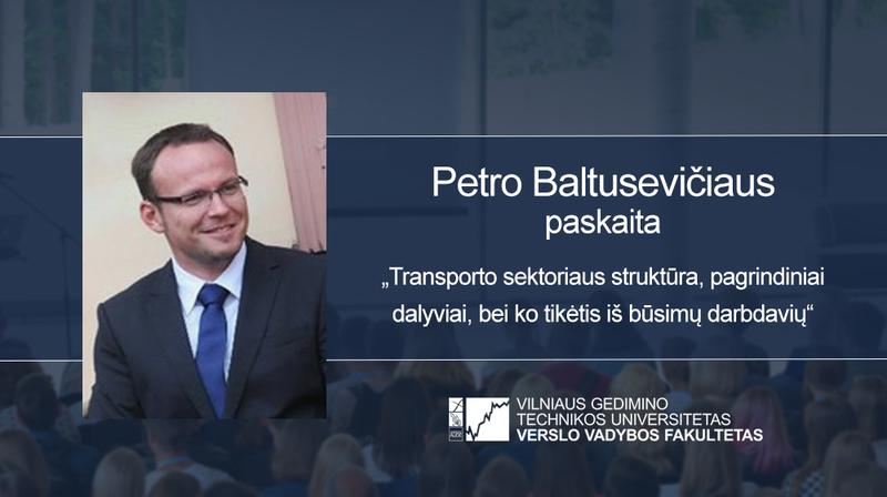 Vyks Petro Baltusevičiaus paskaita