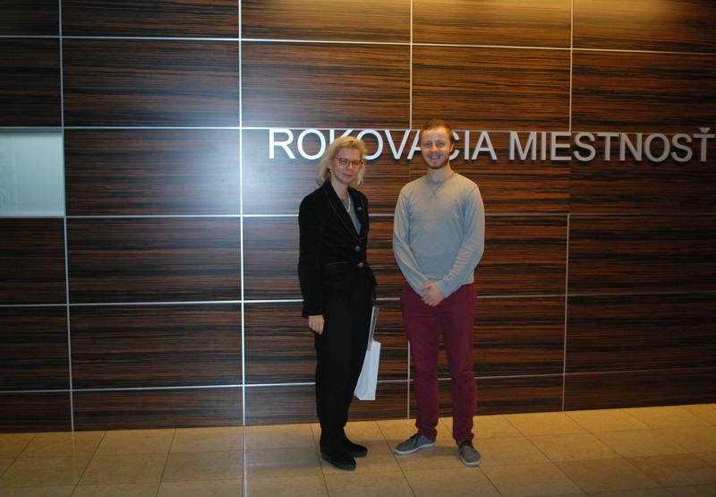 Vadybos katedros prof. dr. R. Korsakienė stažavosi Bratislavos ekonomikos universitete (Slovakija)