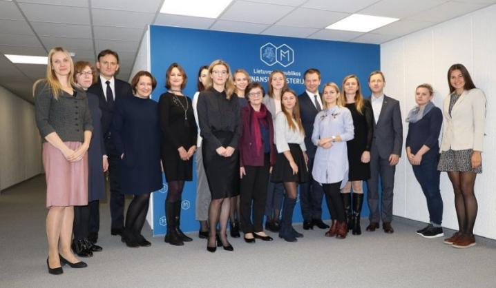 VGTU studentei – Finansų ministerijos apdovanojimas