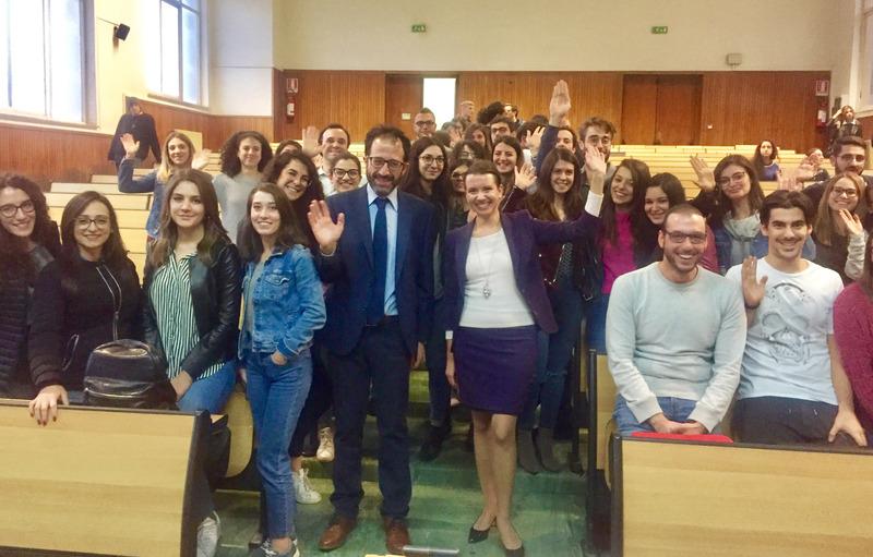 Vizitas Palermo universitete (Italijoje)