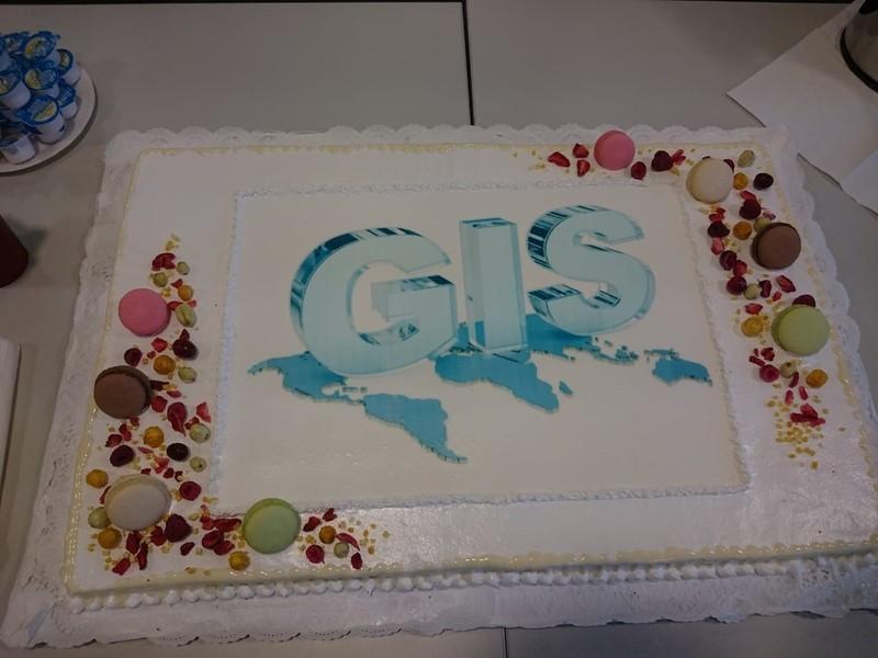Svečio iš Vokietijos vizitas ir pasaulinė GIS diena