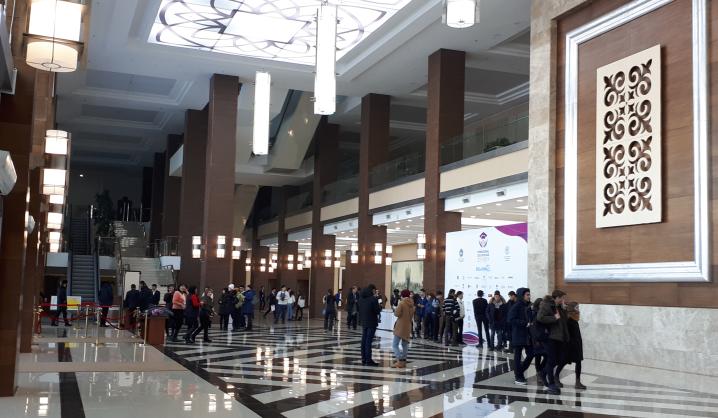 VGTU atstovai – tarptautinėje studijų mugėje Kazachstane