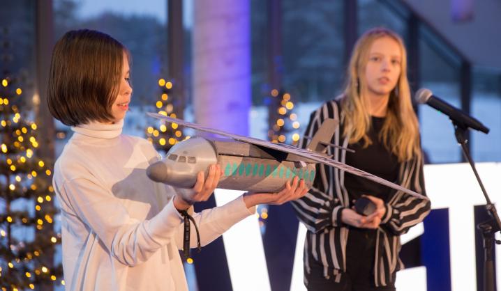 """""""Fab Lab"""" kūrybinės dirbtuvės: pristatytos mokinių verslo idėjos"""