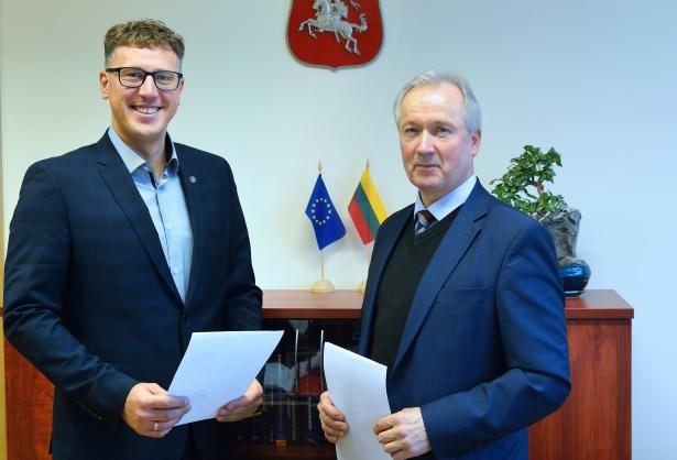 """VGTU bendradarbiauja su inovatyviausia Panevėžio regione įmone – UAB """"Prorentus"""""""