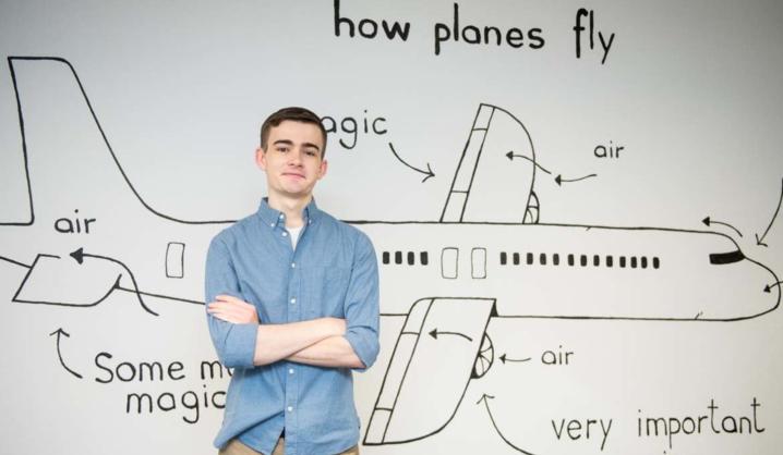 Išsvajotas aviacijos studijas amerikietis pasirinko VGTU