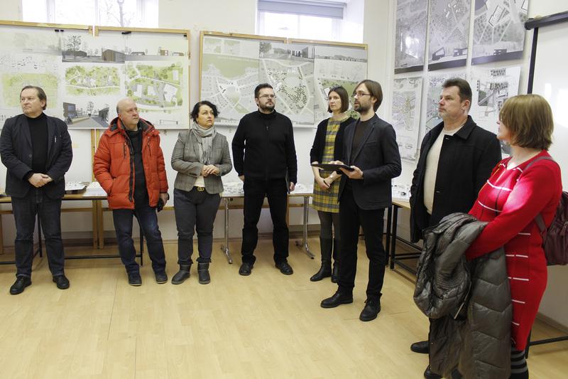 Jaunieji architektai mokosi tapti aktyviais bendruomenių nariais