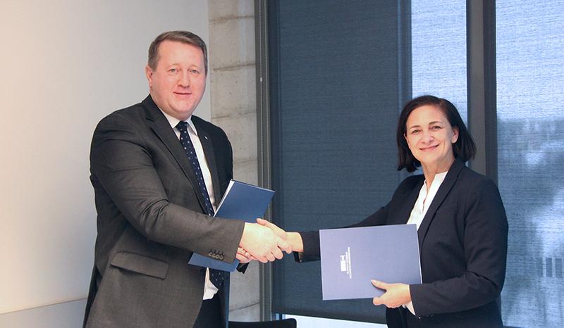 """VGTU pradeda bendradarbiauti su Vokietijos statybų sektoriaus įmone """"Layher Baltic"""""""