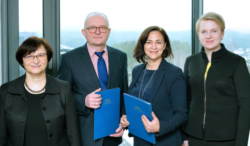 VGTU pasirašė bendradarbiavimo sutartį su Valstybine lietuvių kalbos komisija