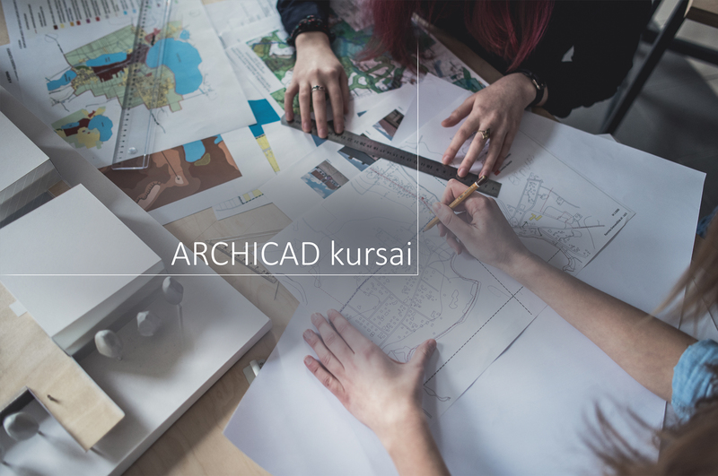 """ArchiCAD"" kursai studentams"