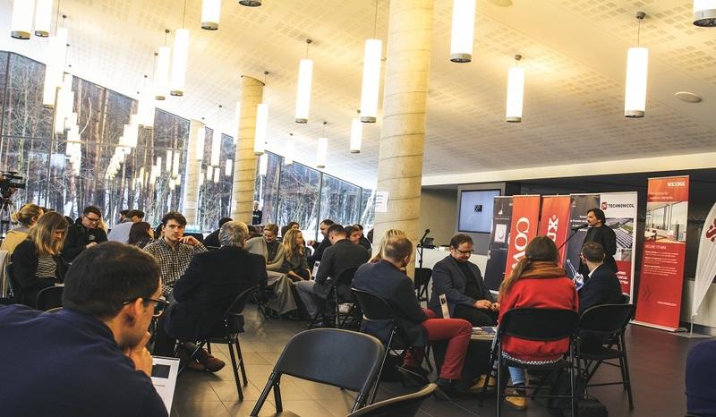 """VGTU studentai prisijungė prie projekto """"Išmanusis miestas V"""": kurs gražesnį miestą"""