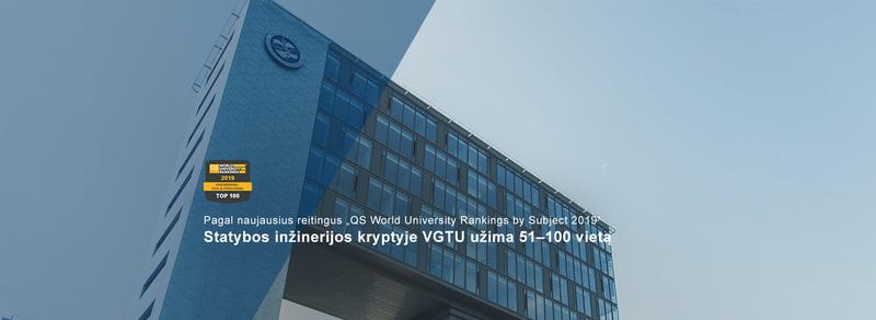 """Sveikiname ir džiaugiamės reitingo """"QS World University Rankings by Subject 2019"""" rezultatais"""