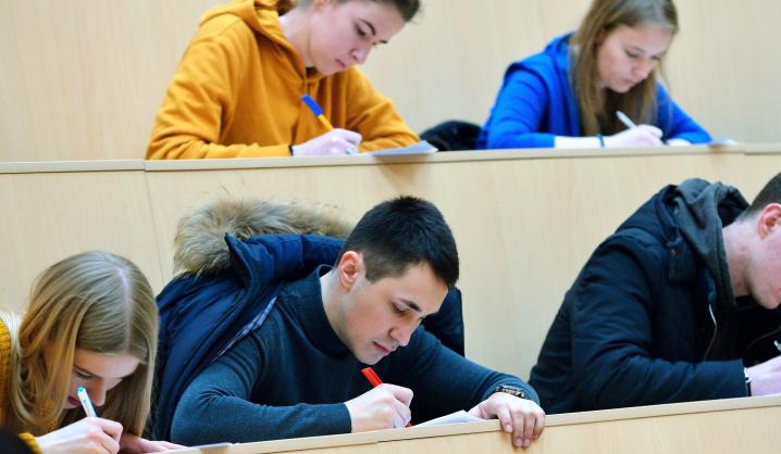 Technikos universitete studijuoja raštingi studentai