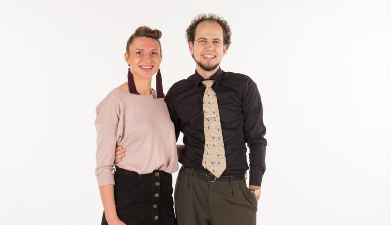 """""""Pažink SMC"""" – šokių mokytojai Kristina ir Lukas"""