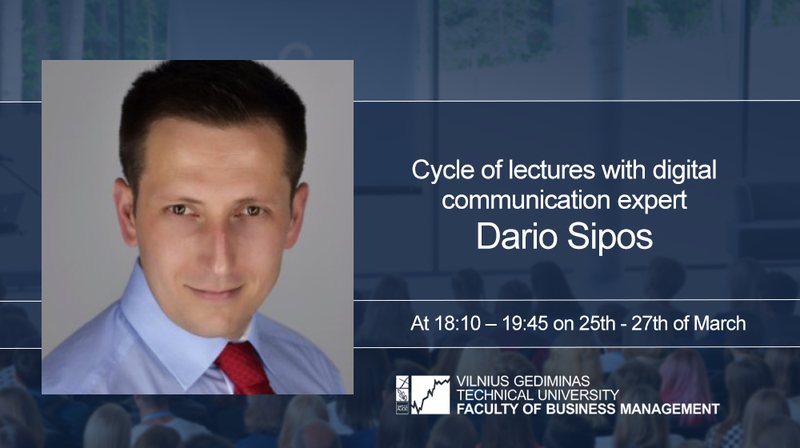 Don't miss: cycle of lectures with digital communication expert Dario Sipos