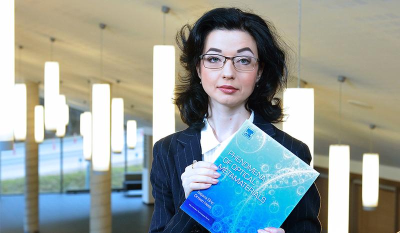 VGTU docentės Tatjanos Gric naujoje knygoje aptariamos objektų slėpimui pasitelkiamos metamedžiagos