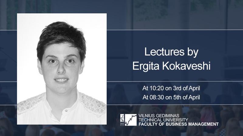 Lectures by Ergita Kokaveshi