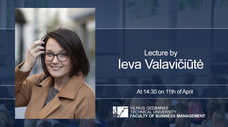Lecture by Ieva Valavičiūtė