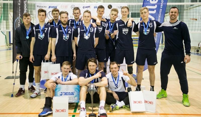 VGTU vaikinų tinklinio komanda – Vilniaus miesto tinklinio lygos čempionai