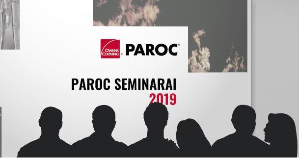 """Kviečiame į """"PAROC"""" seminarą Vilniuje"""