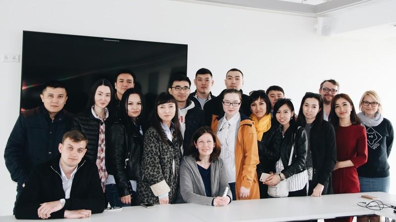 Svečiai iš tolimojo Kazachstano