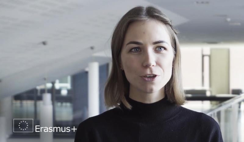 Jomantė Maksvytytė dalijasi Erasmus+ mainų programos studijų patirtim