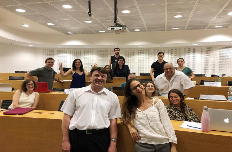 Docentas dr. Andrius Tamošiūnas lankėsi Ben-Gurion'o Negev'o universitete (Izraelyje)