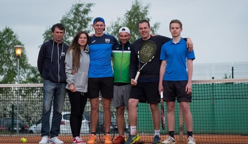 VGTU tenisininkai - vicečempionai