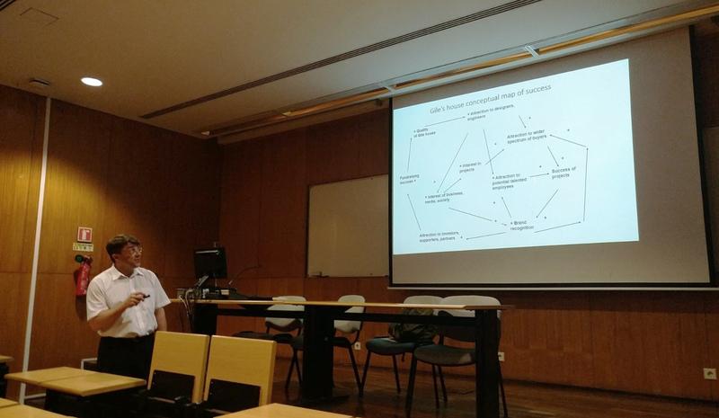 Docento dr. Andriaus Tamošiūno vizitas Lisabonos universiteto Ekonomikos ir vadybos mokykloje