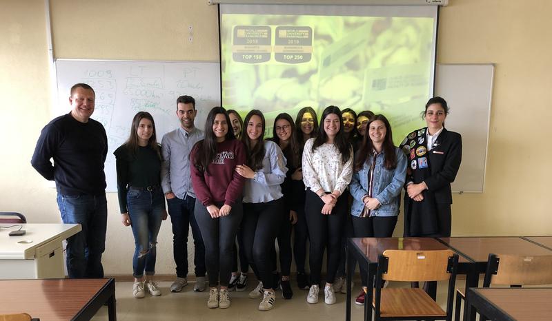 Lektorius Giedrius Čyras stažavosi Viana de Kastelo politechnikos institute