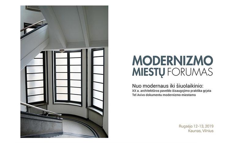 Diskutuoti kviečia Tarptautinis modernizmo miestų forumas