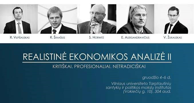Lietuvos laisvosios rinkos institutas kviečia į profesionalius akademinius kursus su rinktiniais lektoriais