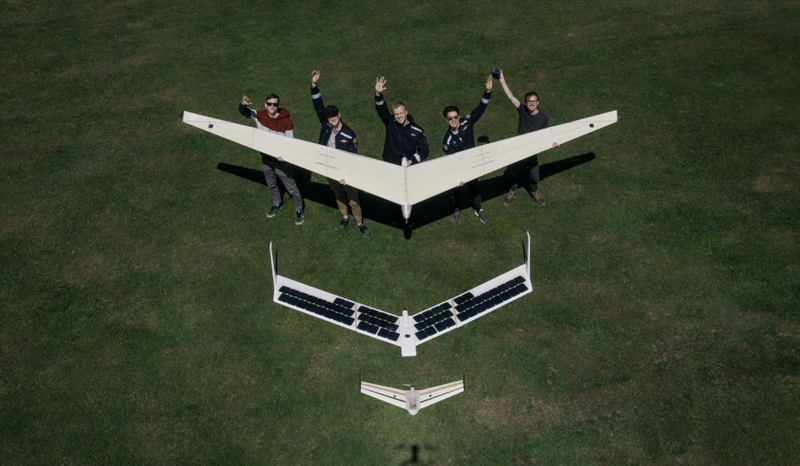 NASA mokslininkų įkvėpti: sukurtas pirmasis paukščio skrydžiu paremtas bepilotis orlaivis