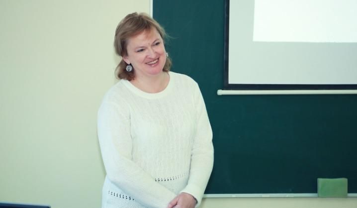 VGTU viešinti dėstytoja veda atviras biomechanikos paskaitas