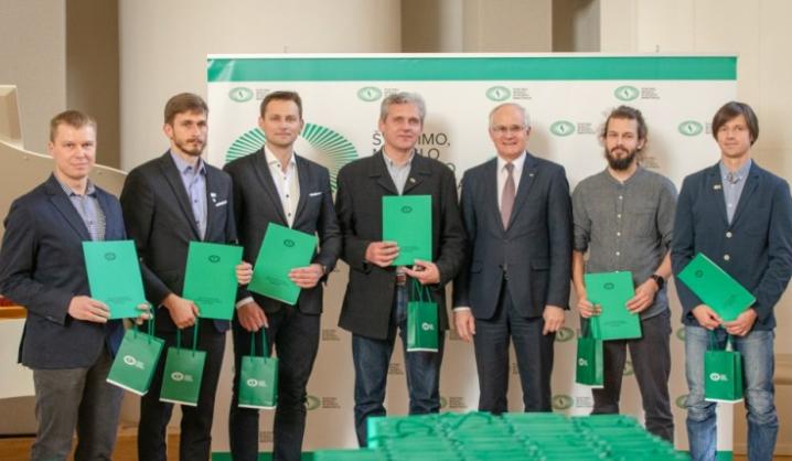 Apdovanoti geriausi Lietuvos sportininkai – tarp jų ir VGTU Turistų klubo alpinistai