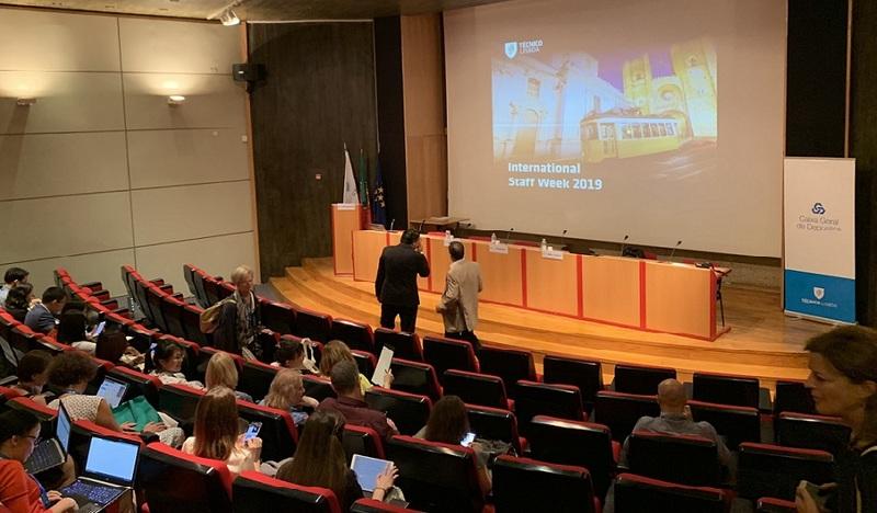 Lektorius Giedrius Čyras stažavosi Lisabonos technikos universitete (Portugalijoje)