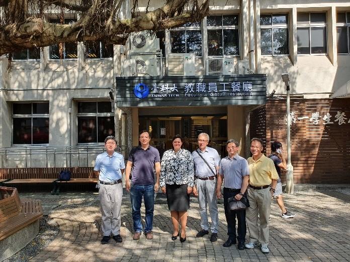 VGTU mokslininkai lankėsi TaiwanTECH
