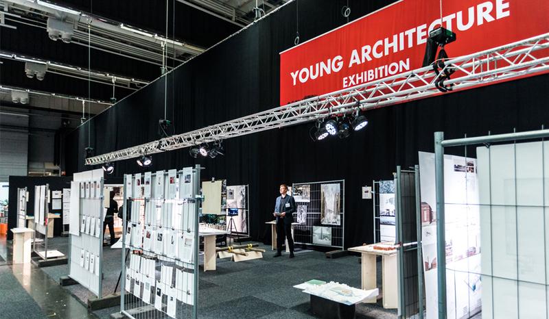 Fakulteto magistrų baigiamieji – YOUNG ARCHITECTURE parodoje Švedijoje