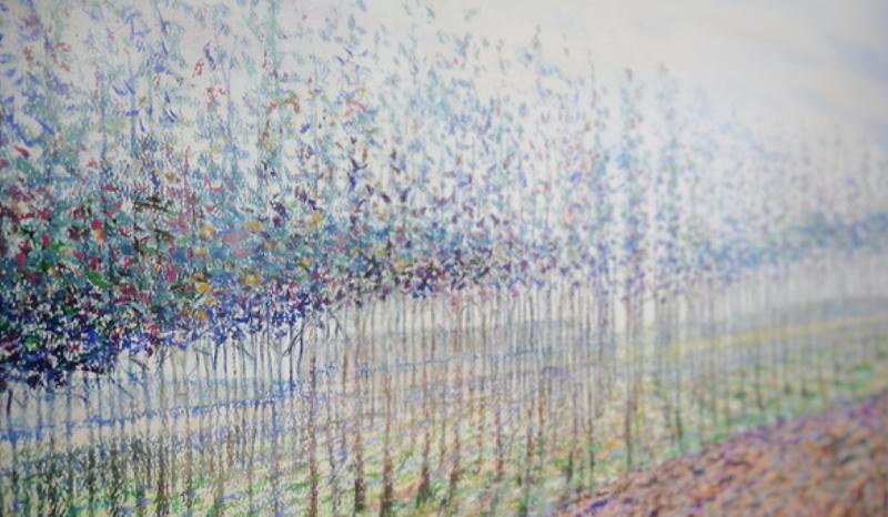 """Galerijoje A atidaryta K. Vaičiūno tapybos darbų paroda  """"Praeitis dabartyje"""""""
