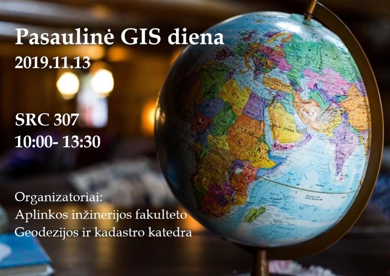 Geografinių informacinių sistemų (GIS) diena