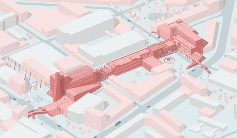 Architektūros fakulteto studento baigiamasis darbas – tarp geriausiųjų Baltijos šalyse